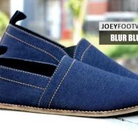 ORIGINAL JOEY FOOTWEAR BLUR BLUE | SEPATU SLIP ON PRIA LOAFERS FLAT
