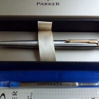 PAKET 1 KLIK: 1 pc Parker Jotter SS GT BP+1 pc Refill BP