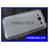 Silikon Case Evercoss / Cross A7s Bening