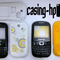Casing Case Housing Samsung B3210 3210 Corby TXT Hitam Putih