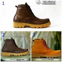 Sepatu Boots Pria Dondhicero - ( Kulit Asli )