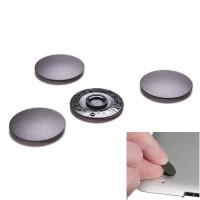 "Black Rubber Pad Unibody Macbook Pro A1278 A1286 A1297 13"" 15"" 17"""