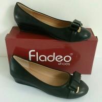 Sepatu FLADEO FL00013-1EL-BCK ORIGINAL, Sepatu Wanita, Sepatu Branded