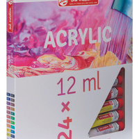 TALENS ART CREATION ACRYLIC COLOUR SET 24 x 12 ML