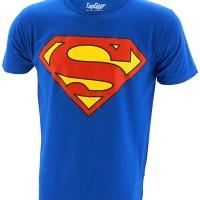 Jual Kaos/Baju Distro Superhero Superman Classic Logo Murah