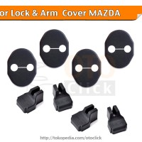 Car Door Lock & Arm Cover Mazda 2 3 6 Cx-5 Cx-7 Cx-9 Komplit