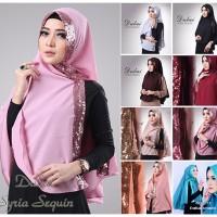 hijab/jilbab Khimar Dubai Sequin Diamond-0236