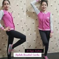 Harga grosir baju murah baju wanita cardigan reebok baseball | Pembandingharga.com