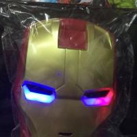 Jual Topeng iron man dengan lampu yang bisa nyala Murah