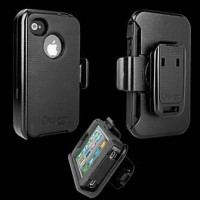 Jual Casing Iphone 4/4S Otterbox Defender Anti Shock Hard Tough Back Case Murah
