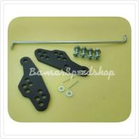 Bracket peninggi step/Raiser step Yamaha R15
