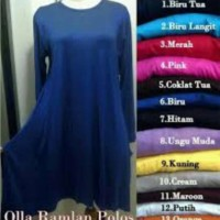harga Atasan/blouse/baju/dress/maxi Olla Polos Tokopedia.com