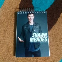 Note Book Shawn Mendez