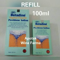 Betadine Vaginal Douce 100ml (Refill)