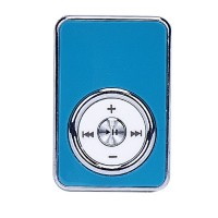 USB Metal MP3 Music Player Support Micro SD TF Card Music Media Blue