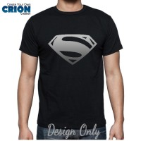 Kaos Batman Vs Superman - Man of Steel Silver Logo