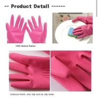 Korean Rubber Gloves (Sarung Tangan Karet Korea) Komax