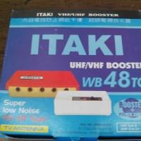 Penguat Sinyal TV / Booster Outdoor Antena TV ITAKI WB 48 TG