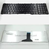 KEYBOARD TOSHIBA SATELLITE C650 C655 L650 L655 BLACK