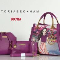 Tas Victoria Beckham Lukis 3in1 / Tas VB / Tas Branded / Cantik