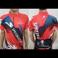 harga Jersey Sepeda Pendek Specialized Merah Tokopedia.com