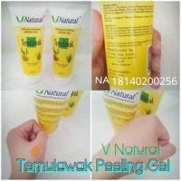 PEELING GEL TEMULAWAK V Natural Exfoliating Serum Gel BPOM
