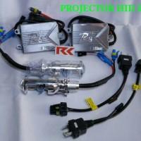 LAMPU UTAMA HID MOBIL/MOTOR PROJECTOR H4 35 WATT BERGARANSI