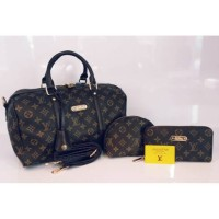 Tas Louis Vuitton LV P042426 set 2 dompet