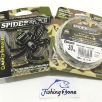 SpiderWire STEALTH CAMO-BRAID Camouflage 300YD - 30LB Dia.0.30mm
