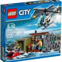 Jual LEGO # 60131 CITY - CROOKS ISLAND - ORIGINAL MURAH Murah