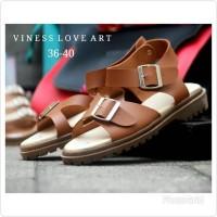 Sandal Platform Murah Wanita Gesper Grosir Bandunng