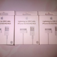 Kabel Data Charger Lightning to USB Cable iPhone 4 3 3G/3GS/4G/4GS