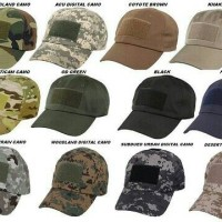 TOPI TACTICAL ARMY / TOPI PET ARMY EMBLEM / TACTICAL HAT VELCRO