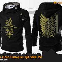 Jual SNK Black Gold Harajuku (Jaket SNK JA SNK 15) Murah