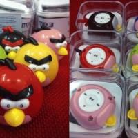 MP3 Player Angry Bird Pemutar Musik MP3 Karakter Lucu