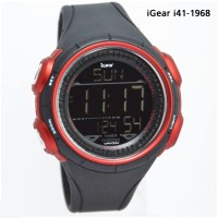 Jam Tangan IGear IGear I41-1968 Digital Red Blak Edition