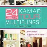 24 Desain Kamar Tidur 3 In 1 Multifungsi (Soft Cover)