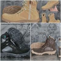sepatu zim zam sepatu pria boots safety /cuci gudang toko glosir