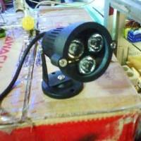 Harga Lampu Sorot Led 3w Kuning Taman Spotlight Bulat 3x1 Watt Outdoor Murah Tokopedia