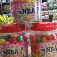 Jual permen karet bulat/ball gum NBA Murah