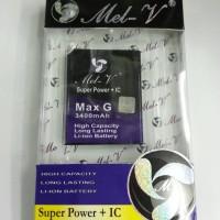 Baterai Double Power MEL-V Smartfren Andromax G/C2/C2S/C3Si/ES