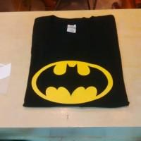 Jual Kaos Gildan logo Batman vintage Murah