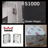 DORMA S1000 SHOWERHINGE GLASS TO WALL 90 @pcs