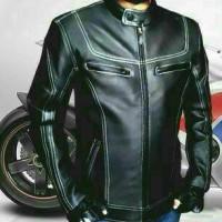 jacket motor stail sintetis