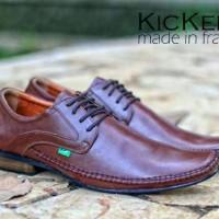 sepatu kerja kantor pesta formal pria kickers pantofel kulit asli