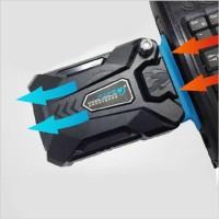 Fan usb Vacum cooler Pendingin laptop Notebook Exhaust Cooling ColdICE