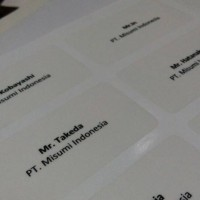 Jasa Print Label Undangan Tom Jerry 103 Transparant