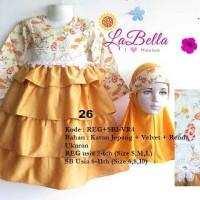 La Bella Gamis Anak Sb1-VR4 Gold 26 Size 6-11th
