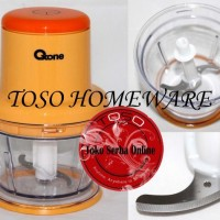 Oxone Ox-201 Cute Chopper, Penggiling Blender Daging Bumbu, Mixer