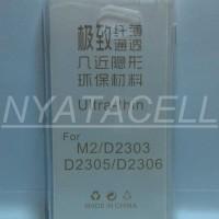 Case Ultrathin Sony Xperia M2 / Aqua /Ultra Thin/Soft/Softcase/Silikon